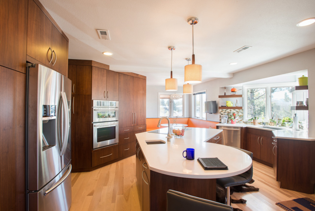 Mid-Mod Kitchen Photography for Caruso Kitchens ‹ L H P